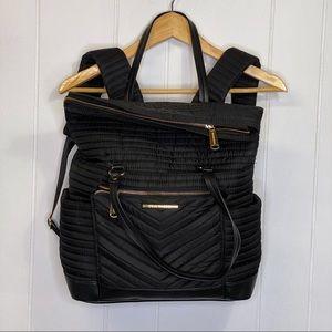 Steve Madden quilted backpack purse diaper bag